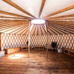 Large wooden hut